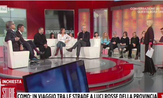 "[ VIDEO ] Don Aldo Buonaiuto a Storie italiane : ""NO ALLE CASE CHIUSE"""